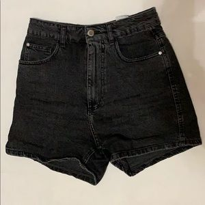 Zara TRF Denim high waisted shorts.